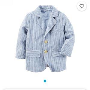 Carter's Toddler Seersucker Blazer